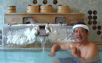 温泉遺産を守る会・代表野口悦男さん、向瀧の湯は間違いなく源泉100%かけ流しの湯です