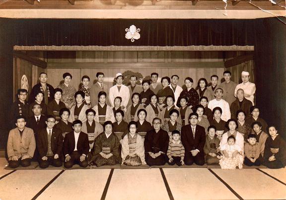 昭和42年年末の忘年会