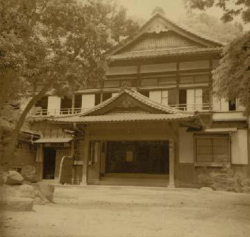 昭和12年頃の玄関