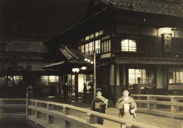 昭和30年頃の夕暮れ