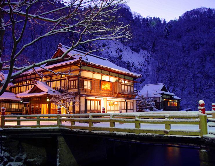 向瀧の写真館 冬の玄関